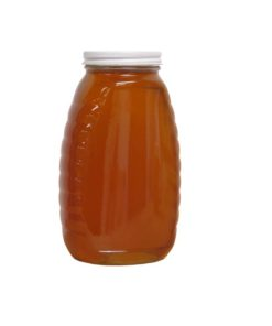 2 lb Honey Jar 247x296 - 2 lb. Glass Jar- Case of 12