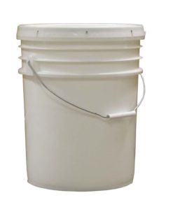 5 gal honey bucket 247x296 - 5 gallon Plastic Bucket