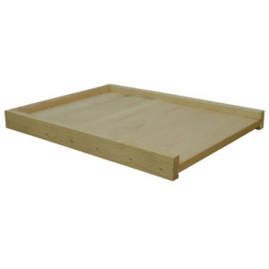 BBA 2 1 300x300 - Unassembled 5-frame Reversible Bottom Board