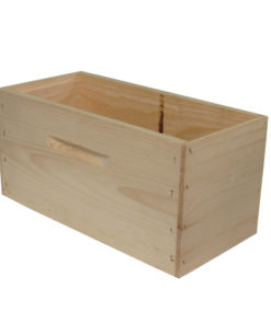 DRA5 247x296 - Deep Hive Body, Rabbet-joint, Assembled, Commercial, 5-Frame