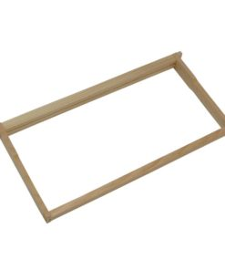 FDAWGH 247x296 - Assembled Deep Frames with Grooved Top Bar and Grooved Bottom Bar