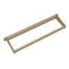FSAGGH 100x100 - Shallow Frame, Unassembled, Wedged Top Bar, Split Bottom Bar, Commercial