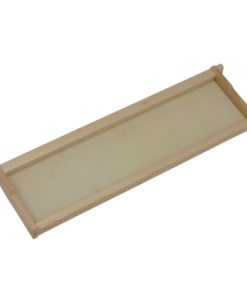 FSAPGG 247x296 - Shallow Frame, Assembled with Extra Heavy Waxed, White, Plastic Foundation, Commercial