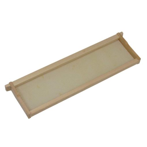 FSAPGG 510x510 - Shallow Frame, Assembled with Extra Heavy Waxed, White, Plastic Foundation, Commercial