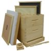 HKA 100x100 - Painted 8-frame Hive Kit