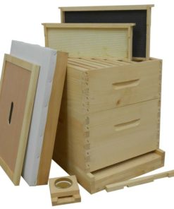 HKA 247x296 - Painted 8-frame Hive Kit