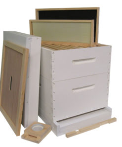 HKP 247x296 - Painted 10-frame Hive Kit