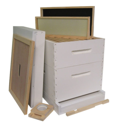 HKP 510x510 - Painted 8-frame Hive Kit