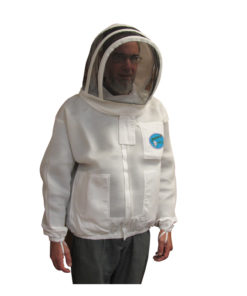 Light vent fencing jacket 247x296 - Vented Protector Bee Jacket, Fencing Hood