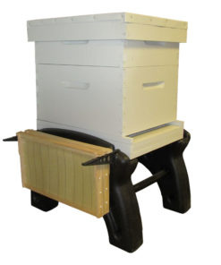 New Hive Stand with Hive 247x296 - 10-frame Ultimate Hive Stand