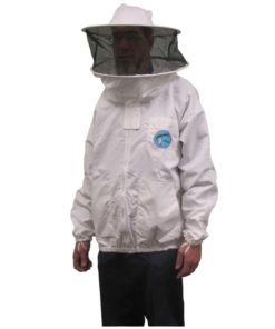 PBJR 247x296 - Polycotton Protector Bee Jacket, Round Hood