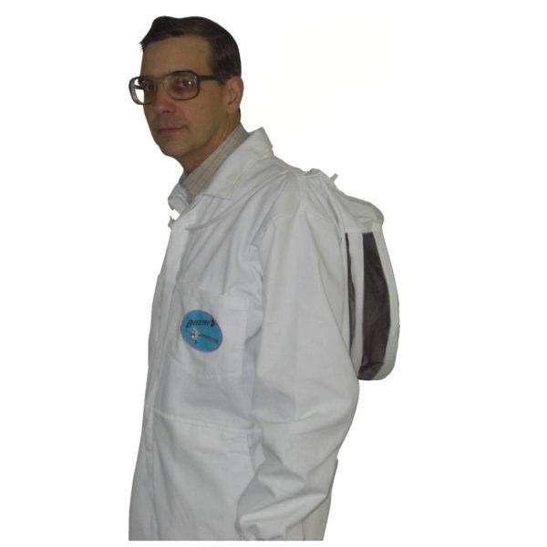 PBSF back 600x600 - Protector Bee Suit - Fencing Hood