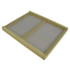 SCA 100x100 - Commercial Assembled 10-frame Double Screened Inner Cover