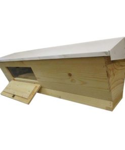 TBH 247x296 - Unassembled Top Bar Hive with Observation Window