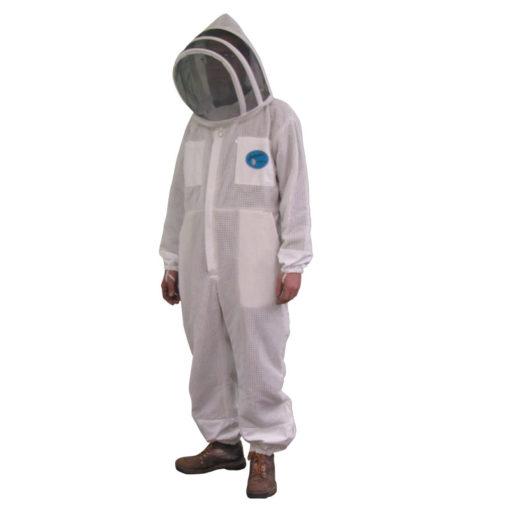 Ventiated suit fencing hood 510x510 - Protector Bee Suit - Fencing Hood