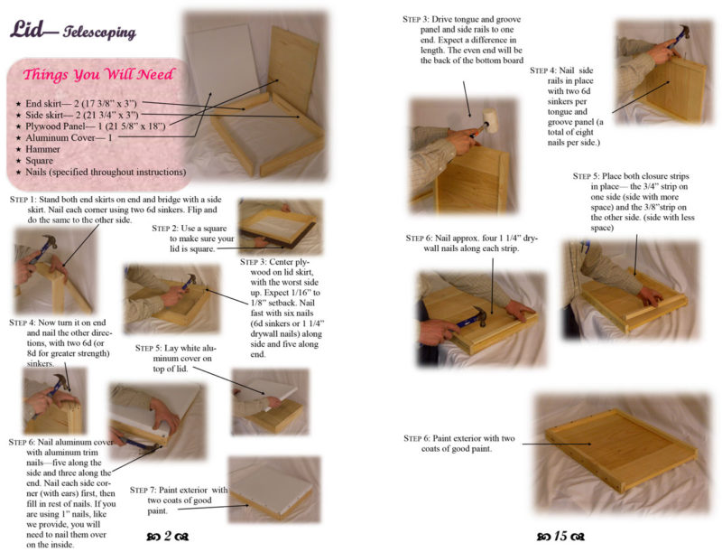 assembly instructions booklet page 2