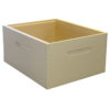 deep painted super 100x100 - Deep Hive Body, Finger-jointed, Assembled, Commercial, 8-Frame