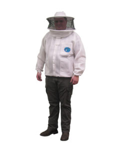 light vent round jacket 247x296 - Vented Protector Bee Jacket, Round Hood