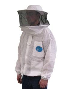 vented jacket round hood 247x296 - Protector Bee Jacket - Round Hood