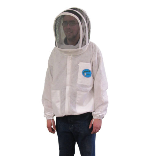 ventilated jacket fencing hood 510x510 - Protector Ventilated Bee Jacket - Fencing Hood