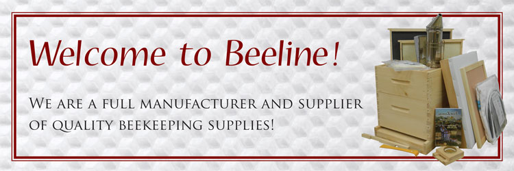 Welcome to Beeline Apiaries & Woodenware, a full manufacturer and supplier of quality beekeeping supplies